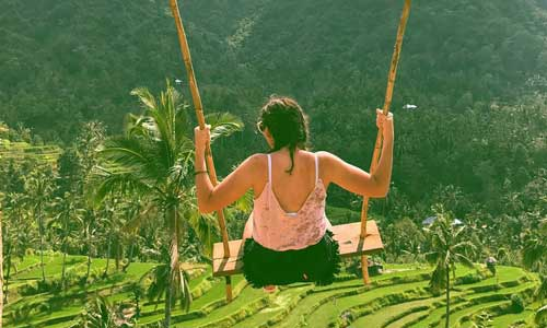 swing-at-lemukih-ricefield