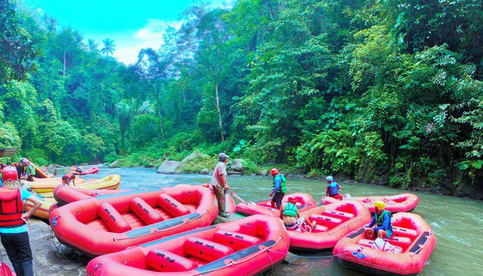 Ayung River Water Rafting Bali Tour Guide Bali Private Tours Edy Smile Tour