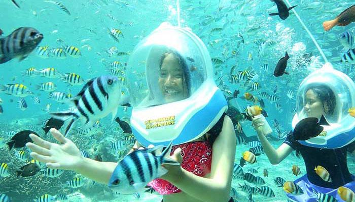 bali sea walker experience | bali underwater tour
